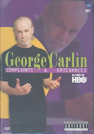 GEORGE CARLIN:COMPLAINTS AND GRIEVANC BY CARLIN,GEORGE (DVD)